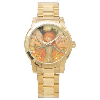 Faerie del amor de la mariposa besado por The Sun Relojes