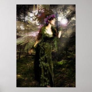 Faerie del bosque posters