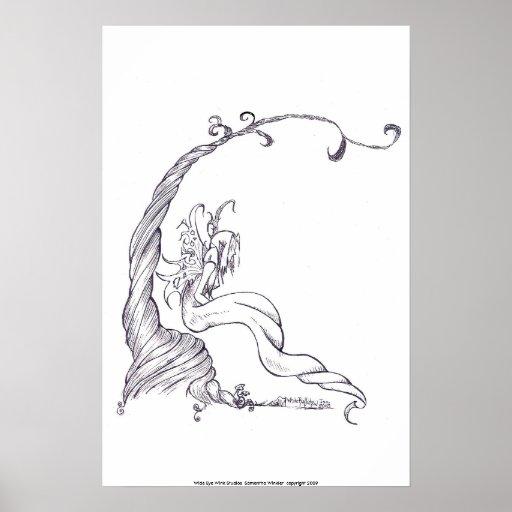 faerie del fantasma, posters