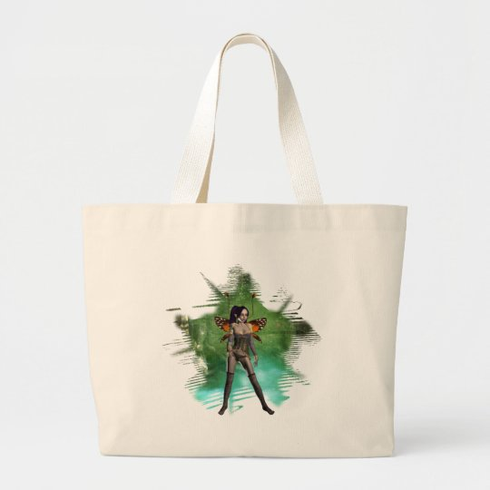 Faerie  ~  Earth Large Tote Bag