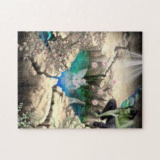 Faerie en la charca de Elven Rompecabezas Con Fotos