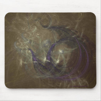 FAERIE FLOWERS MOUSE PAD