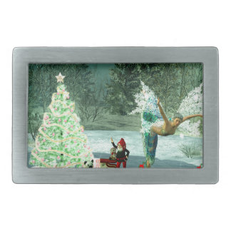 Faerie & Gnome Christmas! Belt Buckle