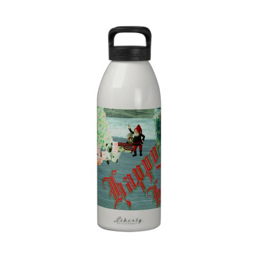 Faerie & Gnome Christmas! Water Bottle