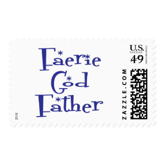 Faerie-God-Father Postage Stamps