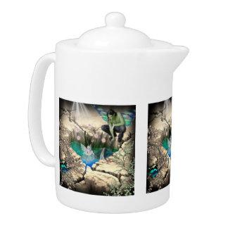 Faerie in Elven Pond Teapot