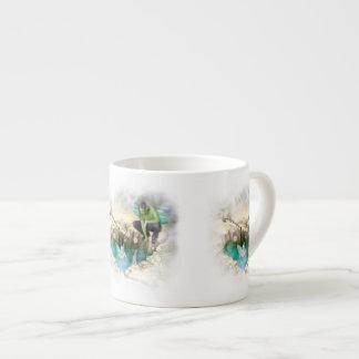 Faerie in Elven Pond Vignette Espresso Cup