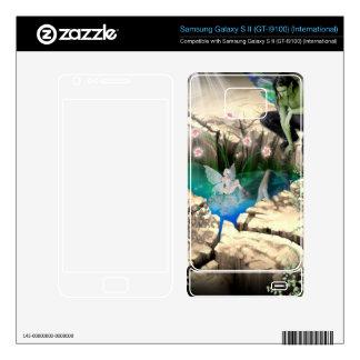 Faerie in Elven Pond Zazzle Skin Samsung Galaxy S II Skins