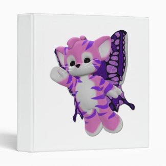 Faerie Kitty (pink) 3 Ring Binder