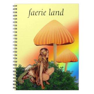 faerie land notebook