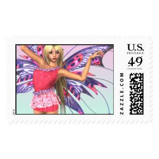 Faerie Magick Postage Stamp