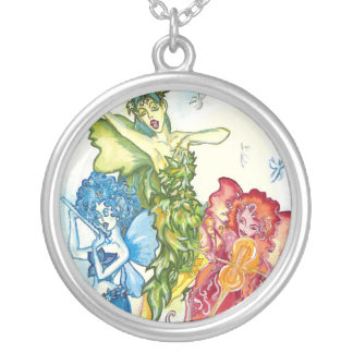 Faerie Music Silver Plated Necklace