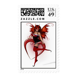 Faerie Of Love Postage - Customized