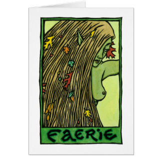 Faerie Stationery Note Card