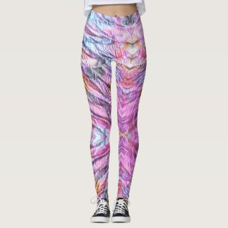 Faerie: Sundown, Plum, Peppermint, & Perano Leggings
