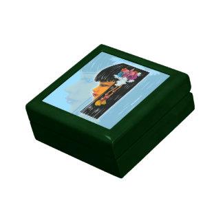 Faerie tropical cajas de recuerdo