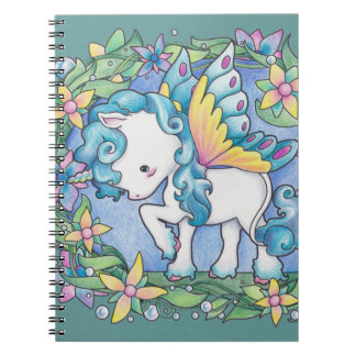 Faerie Unicorn Notebook