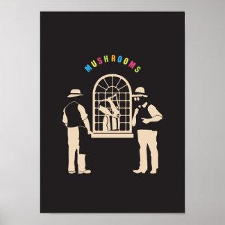 Faerie urbano - el intercambio de la seta poster