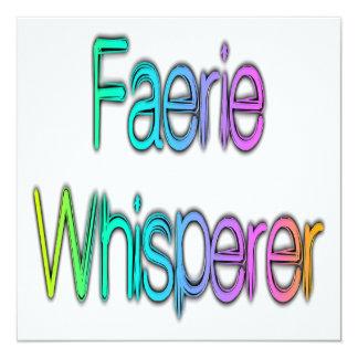 Faerie Whisperer Rainbow Card