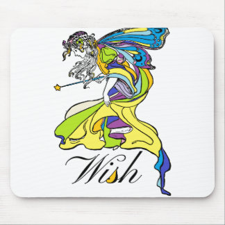 Faerie Wish Mouse Pad