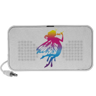 Faerie with beautiful colors mp3 speakers
