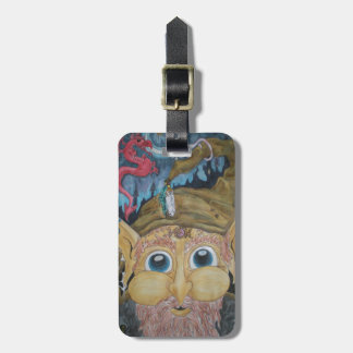 Faerie Wizard and Friends Tag For Luggage