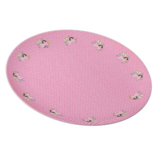 Faeries and Polkadots Dinner Plate