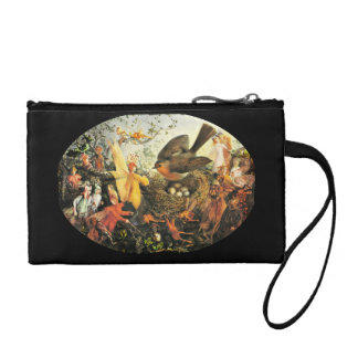 Faeries and the Robin Change Purse