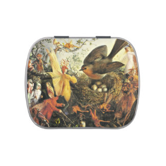 Faeries and the Robin Jelly Belly Tin