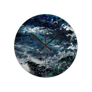 Faeries Aquatica Abstract Wallclock