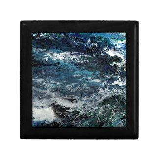 Faeries Aquatica Abstract Jewelry Box
