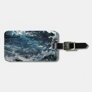 Faeries Aquatica Abstract Travel Bag Tags