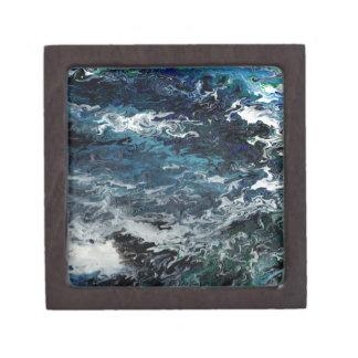 Faeries Aquatica Abstract Premium Keepsake Boxes
