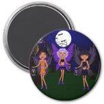 Faeries de Halloween las hermanas del santificar Imán Para Frigorifico