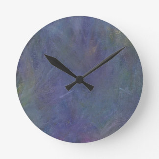 Faeries' Midnight Dance Abstract Wall Clock