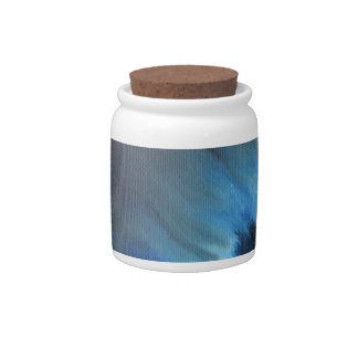Faerie's Night Flight Abstract Candy Jars