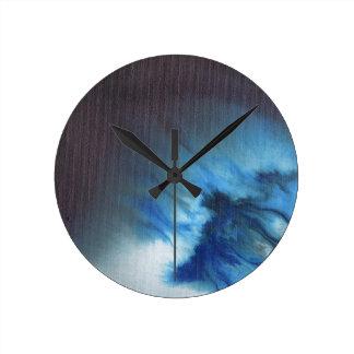 Faerie's Night Flight Abstract Clocks
