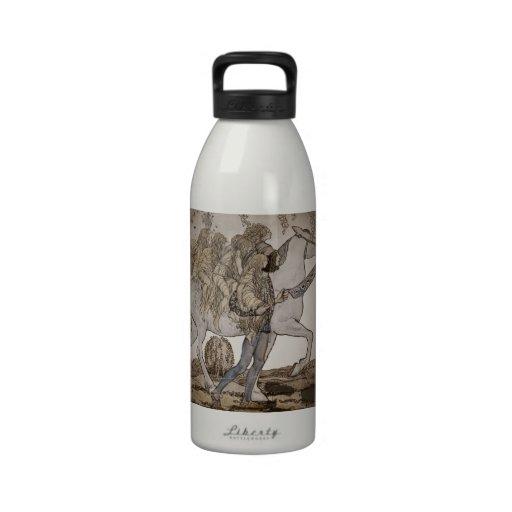 Faeries on Horseback Drinking Bottles