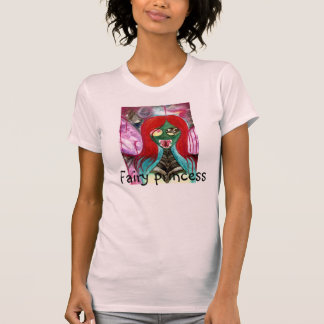 (Faery asustadizo) camiseta de hadas de las Playeras