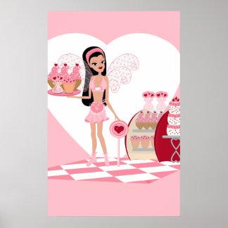 Faery de la tarjeta del día de San Valentín con la Posters