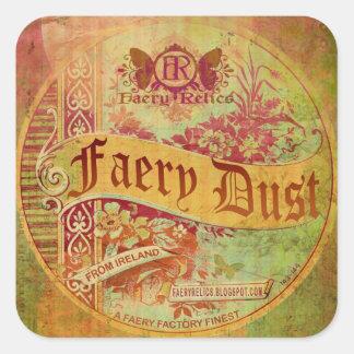 Faery Dust Square Sticker