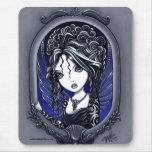 Faery elegante oscuro del tatuaje de Athena Tapete De Ratones