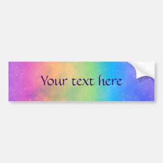 Faery Fun Day Pixel Art Car Bumper Sticker