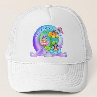 Faery Fun Day Pixel Art Trucker Hat