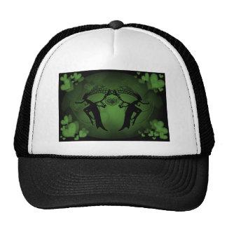 Faery Hearts Green Trucker Hat