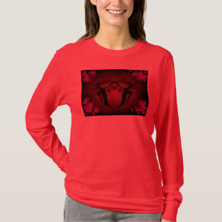 Faery Hearts Red T-Shirt
