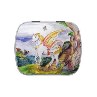 Faery Horse Candy Tin