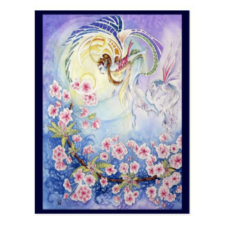 Faery II de la flor de cerezo Postales