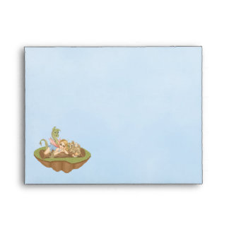 Faery Land Friends Pixel Art Envelope