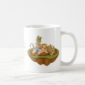 Faery Land Friends Pixel Art Mug